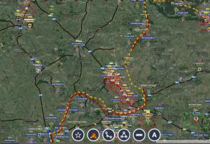 Debalcevo : renforts d'artillerie lourde -