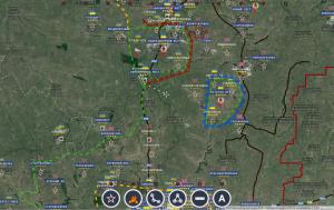 Telmanovo repris à l'ennemi -