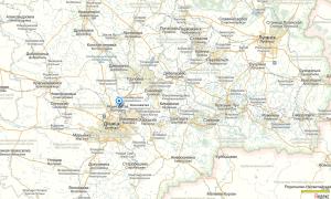 Yasinovataya, position-clef entre Donetsk et Gorlovka
