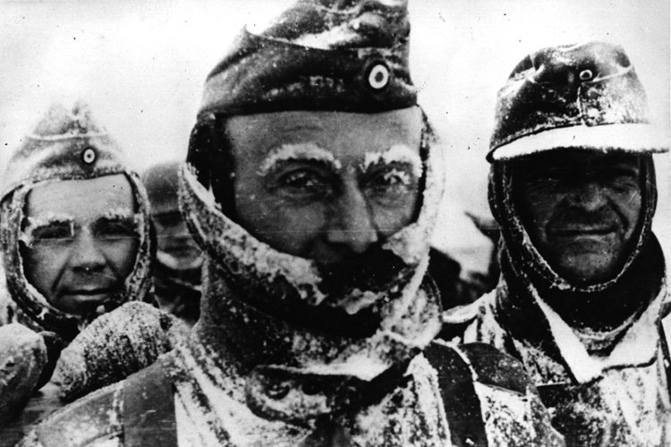 Nazis en hiver.