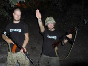 Ukraine - les nazis pro-européens du bataillon Aidar